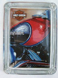 Harley Davidson Motorcycle Logo Engine Cigarette Ashtray  Casino Table Ashtrays  Sports & Outdoors
