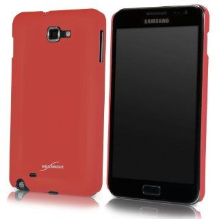 BoxWave AT&T Samsung Galaxy Note (Samsung SGH i717) Minimus Case   Ultra Slim Fit, Low Profile, Premium Quality Snap Shell Cover   Samsung Galaxy Note Cases and Covers (Crimson Red) Cell Phones & Accessories