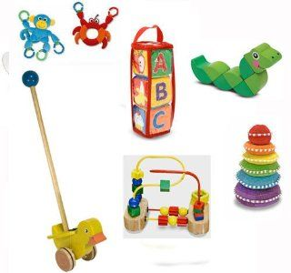 The Ultimate Toys for Baby   Bundle of 7 by Melissa and Doug Toys & Games