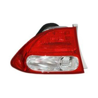 TYC 11 6166 91 Honda Civic Driver Side Replacement Tail Light Assembly Automotive