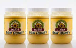3 Jars of 40oz Organic 100% Pure Natural Raw Honey Wholesale Price the Best Product Very Fast Shipping From Heng Heng Shop Health & Personal Care