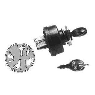 Lawn Tractor Ignition Switch; AYP STD365402, 365402, 3612R, 4406R; MTD 725 0267A, 925 0267A; Murray 21064; John Deere AM102551 (And Many More) Patio, Lawn & Garden