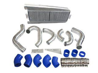 Bolt On FMIC Intercooler Kit For 87 93 Ford Mustang 5.0 Supercharge V3 Fox Body Automotive