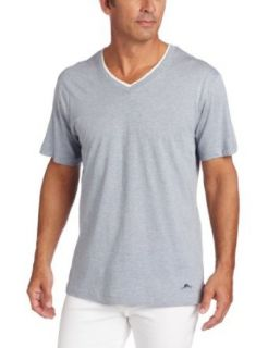 Tommy Bahama Men's Cotton Modal Jersey V Neck Short Sleeve T Shirt, Chambray, Small at  Men�s Clothing store
