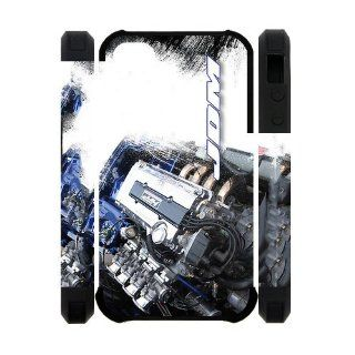 DOHC VTEC Honda JDM Engine case for Iphone 4/4S Cell Phones & Accessories