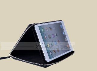 Chinao� CA18 01 Exquisite Black Leather Case for Mini Ipad (Top Quality Grained Cowhide Leather)) Computers & Accessories