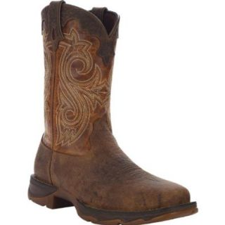 "Flirt with Durango Women's 10"" Steel Toe Western Boot RD3315 Square Toe Boots For Women Durango Shoes"