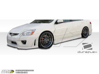 2003 2007 Honda Accord 4DR Duraflex Sigma Side Skirts Rocker Panels   2 Piece Automotive
