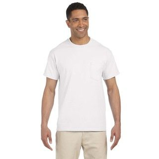 Gildan Mens Ultra Cotton Pocket Undershirts (pack Of 12)