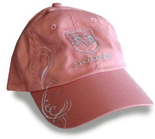 Dodge Ram Logo Hat Cap in Pink (Apparel Clothing) Automotive