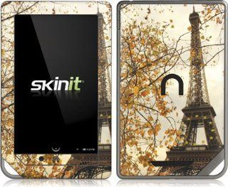 Scenic Cities   Paris Eiffel Tower Surrounded by Autumn Trees   Nook Color / Nook Tablet by Barnes and Noble   Skinit Skin Computers & Accessories