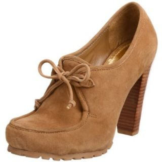 Vince Camuto Women's Cool Oxford,Praline Kid Suede,6 M US Shoes