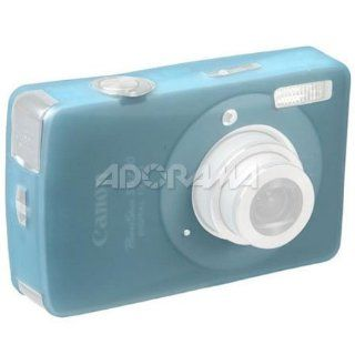 blue Silicone Skin Case for Canon PowerShot SD790 IS, SD790IS, IXUS 90 is  Digital Camera Accessory Kits  Camera & Photo