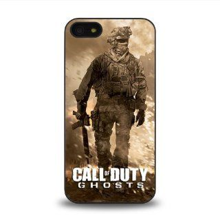 iPhone 5 5S case protective skin cover with Call of Duty Ghosts cool poster design #19 Cell Phones & Accessories