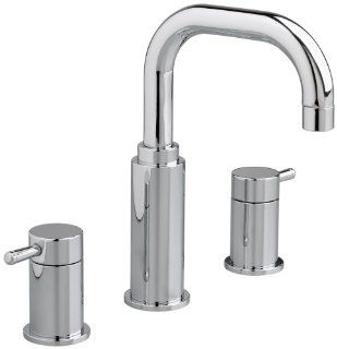 American Standard 2064.801.002 Serin Two Handle Widespread Lavatory Faucet with Metal Speed Connect Pop Up Drain and Lever Handles, Polished Chrome   Touch On Bathroom Sink Faucets