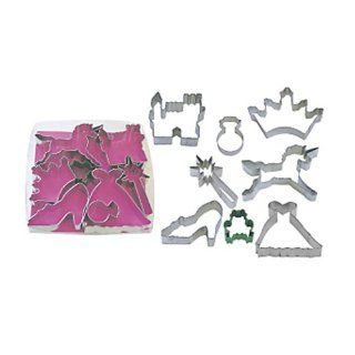 Dress My Cupcake Little Princess 8 Piece Cookie Cutter Set Kitchen & Dining