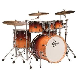 Gretsch CMT E825P Catalina Maple Five Piece Euro Drum Kit   Cherry Gloss Musical Instruments