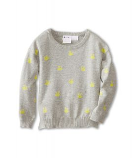 Roxy Kids Sea Pine Sweater Girls Sweater (Gray)