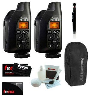 2 Pocket Wizard Plus III Transceiver   801 130 + Accessory Kit Computers & Accessories