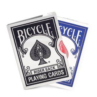 Black Engraving Metal Cards Clip (Bicycle 808)   Magic Trick Sports & Outdoors
