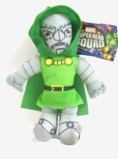 "Officially Licensed Marvel Super Hero Squad Avengers Dr. Doom Plush 9"" Tall. Toys & Games"