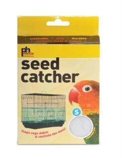 Prevue Pet Products BPV822 Seed Guard Nylon Mesh Bird Seed Catcher, 13 Inch, Assorted Colors  Birdcage Seed Guards And Catchers