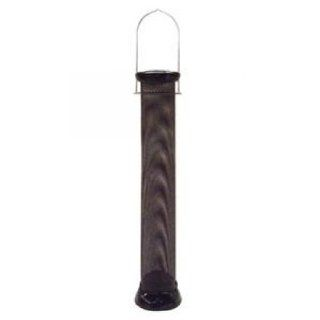 "DROLL YANKEES Clever Clean Finch Magnet Nyjer feeder   Black   2.75"" diameter, 18"" steel mesh tube / CC18FM / Computers & Accessories"