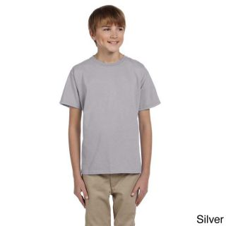 Fruit Of The Loom Fruit Of The Loom Youth Heavy Cotton Hd T shirt Silver Size L (14 16)