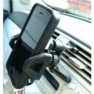 Adjustable 'Easy Fit' Car Air Vent Mount fits Apple iPhone 5, 5S, 5C Cell Phones & Accessories