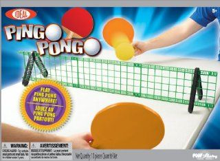 POOF Slinky 37257BL Ideal Pingo Pongo Portable Tabletop Ping Pong Set with Paddles and Foam Balls Toys & Games