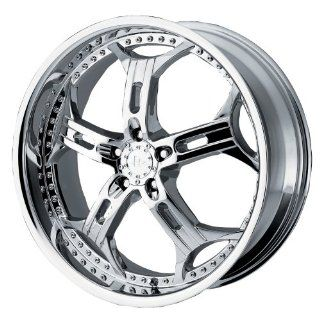 "Helo HE834 Chrome Wheel   (18x8""/5x4.5"") Automotive"