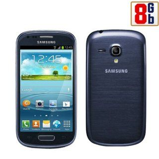 Samsung GT i8190L Galaxy S3 Mini Blue Factory Unlocked 850/1900/2100 3G Cell Phones & Accessories