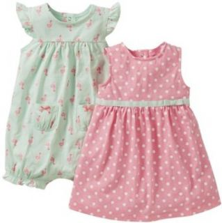 Carters Baby Girl Tank Dress   3 Piece Set w/Diaper Cover Clothing
