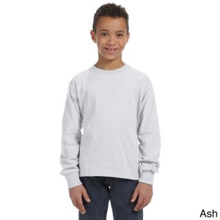Fruit Of The Loom Youth Heavy Cotton Hd Long Sleeve T shirt
