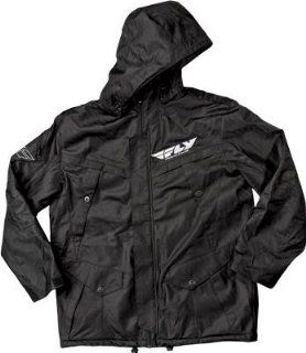 Fly Racing Storm Jacket , Distinct Name Black, Size Lg, Primary Color Black, Gender Mens/Unisex 354 6040L Automotive