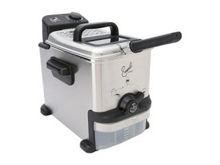 Emeril FR702D001 Ultmate EZ Deep Fryer   1.8 Liters Brushed Stainless Steel