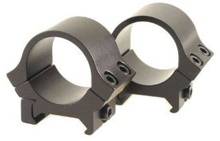 B Square 1 Inch Sport Utility Rings, 0.22 Dovetail Low Rise, Matte Black Finish  Sports Related Merchandise  Sports & Outdoors