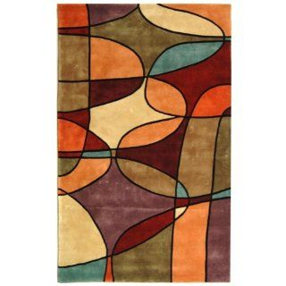 Shop Safavieh Rodeo Drive Collection RD880A Handmade Multicolor Wool Round Area Rug, 6 Feet at the  Home D�cor Store. Find the latest styles with the lowest prices from Safavieh