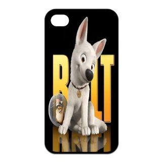 Mystic Zone Customized Bolt iPhone 4 Case for iPhone 4/4S Cover Cartoon Fits Case KEK0356 Cell Phones & Accessories
