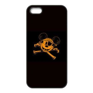 Disney Cute Cartoon Mickey Mouse Style Rubber Case for Iphone 5 Cell Phones & Accessories