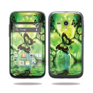 MightySkins Protective Vinyl Skin Decal Cover for Samsung Galaxy Rush Cell Phone M830 Boost Mobile Sticker Skins Mystical Butterfly Computers & Accessories