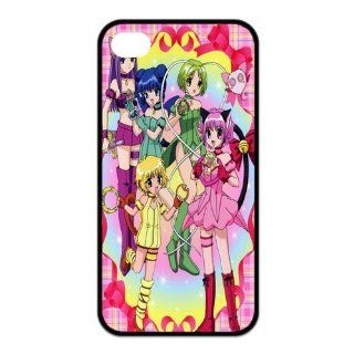 Mystic Zone Tokyo Mew Mew iPhone 4 Case for iPhone 4/4S Cover Japanese Cartoon Fits Case KEK1209 Cell Phones & Accessories