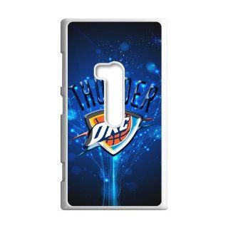 DIY Waterproof Protection NBA Oklahoma City Thunder Team Logo Case Cover For Nokia Lumia 920 0226 03 Cell Phones & Accessories