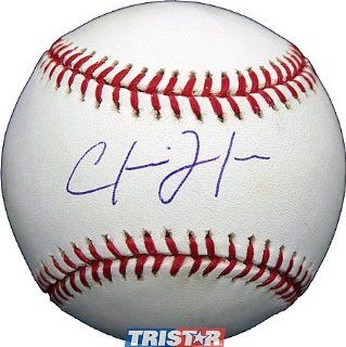 Chris Johnson Signed Autographed MLB Baseball at 's Sports Collectibles Store
