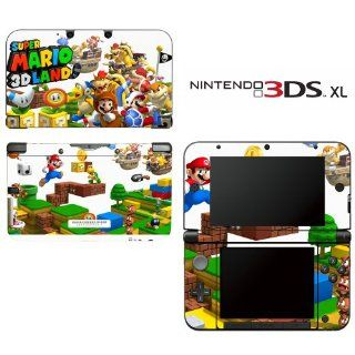 Super Mario 3D Land Decorative Video Game Decal Cover Skin Protector for Nintendo 3DS XL Video Games