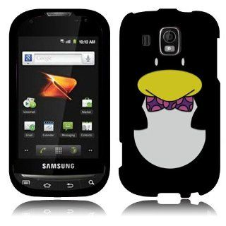 Penguin Black Hard Phone Cover Case for Samsung Transform Ultra M930 SCH M930 Cell Phones & Accessories
