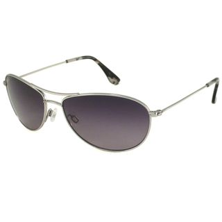 Maui Jim Unisex Baby Beach Gs245 17 Silver Titanium Polarized Aviator Sunglasses
