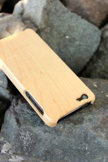 Hacoa Genuine Maple Wood Case for iPhone 5 made in Japan Cell Phones & Accessories