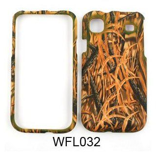 Samsung Vibrant t959 Camo Camouflage Hunter Series, w/ Shedder Grass Hard Case/Cover/Faceplate/Snap On/Housing/Protector Cell Phones & Accessories