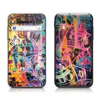 Robot Roundup Design Protective Skin Decal Sticker for Samsung Captivate Glide SGH i927 Cell Phone Cell Phones & Accessories